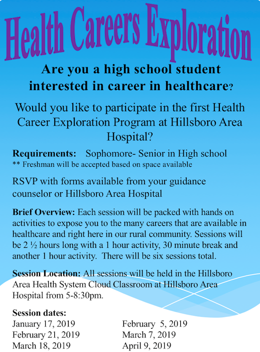 Health Careers Exploration is Launched for High School Students